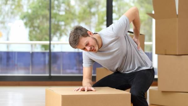 گرفتگی عضلات کمر: علت و درمان